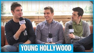 Zac Efron, Dave Franco, & Christopher Mintz-Plasse Reveal Fave NEIGHBORS Deleted Scene! thumbnail