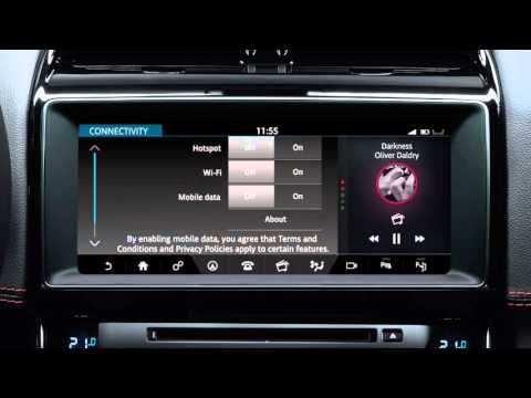 Jaguar XE 2017 | InControl Touch Pro Connectivity