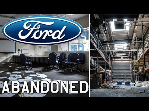 HUGE ABANDONED FORD FACTORY