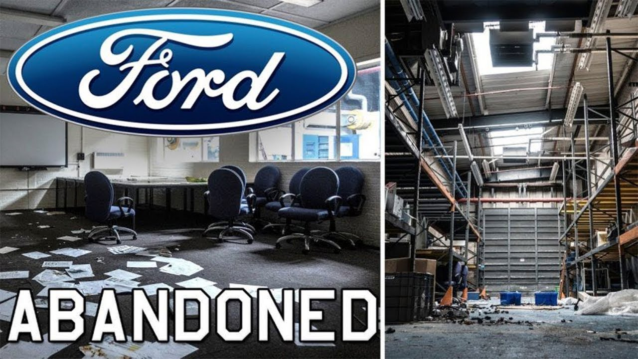 Huge Abandoned Ford Plant Found New Engine Youtube