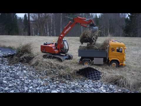 Lindeberg RC Quarry pt 62 - Scania and Hitachi