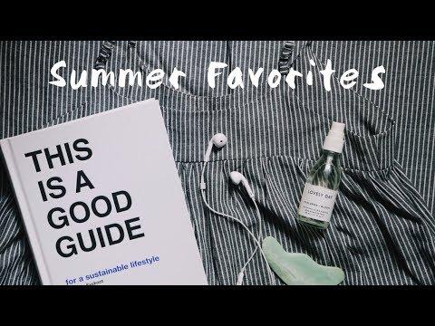 SUMMER FAVORITES '18: FAIR FASHION, BOOKS, NATURAL COSMETICS & MUSIC