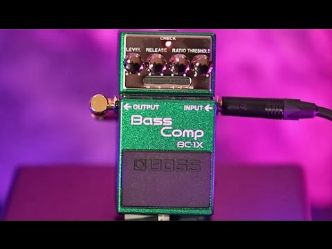 Review Demo - Boss BC-1X Bass Compressor