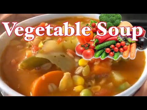 How To Make Easy Delicious Vegetable Soup