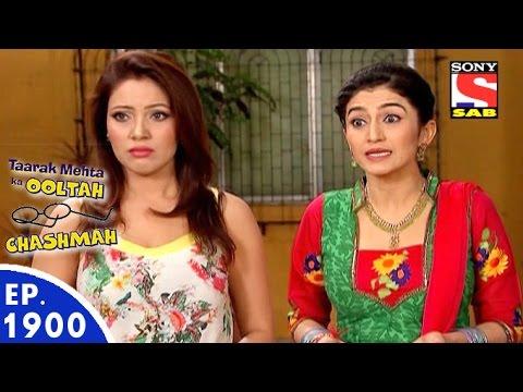 Taarak Mehta Ka Ooltah Chashmah - तारक मेहता - Episode 1900 - 25th March, 2016
