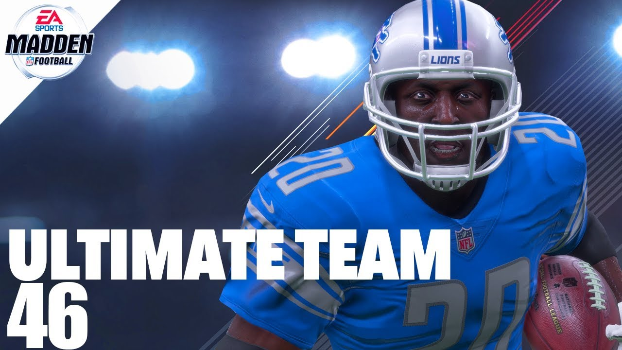 Madden 18 Ultimate Team - 99 Overall Barry Sanders Ep.46