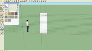 This is how you build a slide in sketchup