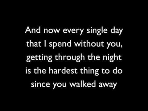 Never Should Have Let You Go - Simple Plan (Lyrics)