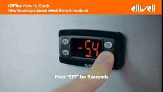 idplus how to guide how to set up a probe when there is no alarm
