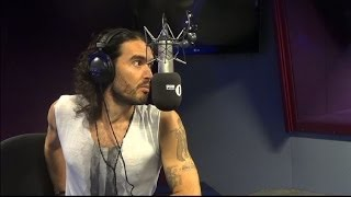 "Russell Brand does ""Lady Time"" With Greg James"