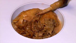 Le poulet de Bresse aux morilles