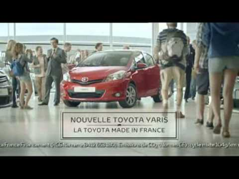 pub toyota yaris 2012 made in france youtube. Black Bedroom Furniture Sets. Home Design Ideas