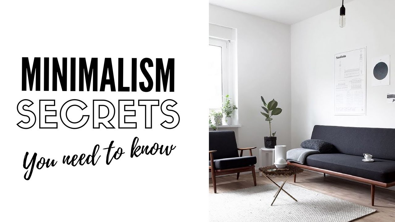 10 Things Nobody Tells You About Minimalism Decluttering Youtube