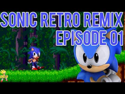 Sonic Retro Remix Walkthrough Part 1 - Nastolgia and SAGE 2014