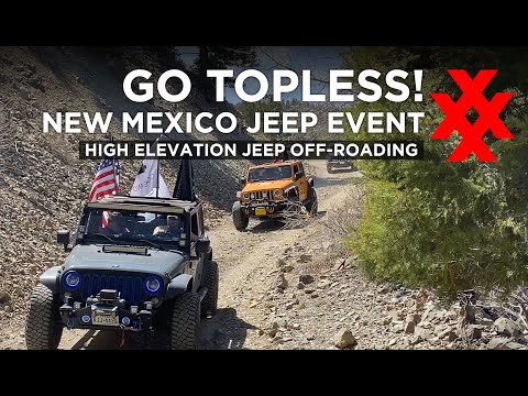 High Elevation Jeep Offroading in Red River and Eagle Nest New Mexico
