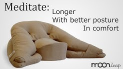 Ergonomic Meditation Cushion by Moonleap - Overview and how to use guide to our meditation cushion