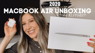 2020 MACBOOK AIR UNBOXING // Apple Back to School-Education Discount