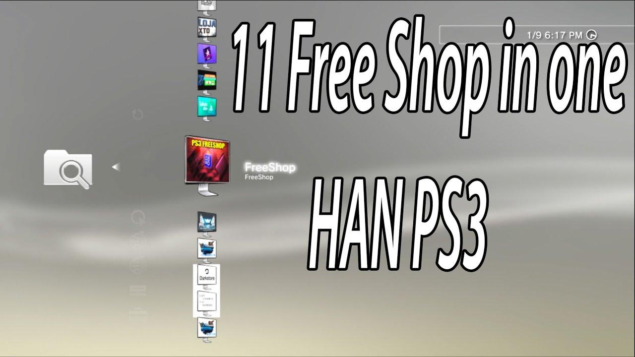 Obikuni MultiStore 11 in one FreeShop HAN PS3