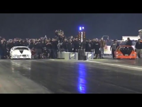 """JUSTIN SHEARER """"STREET OUTLAWS"""" (R) @ """"LIGHTS OUT 7"""""""