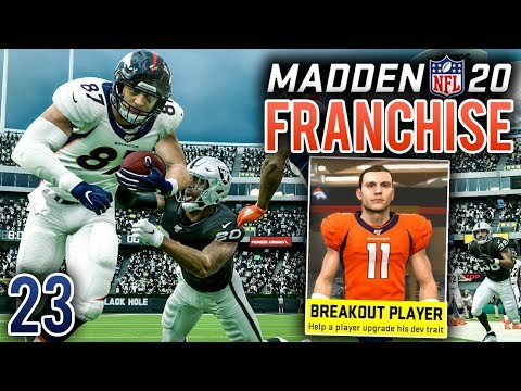 Playmakers Look To Break Out Vs Raiders - Madden 20 Broncos Franchise (Y2:G3) - Ep.23