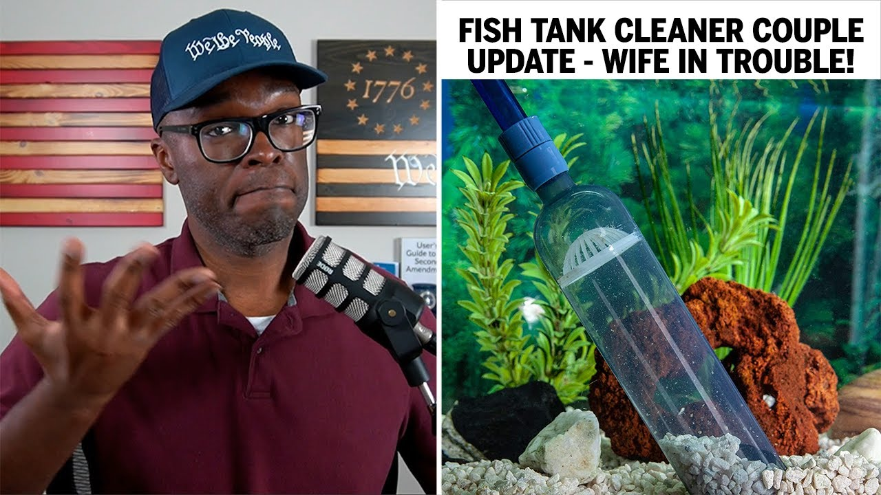 UPDATE On The Arizona Fish Tank Couple: WIFE Is In TROUBLE!