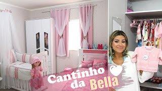 TOUR PELO CANTINHO DA BELLA - Quarto Compartilhado Irmãs