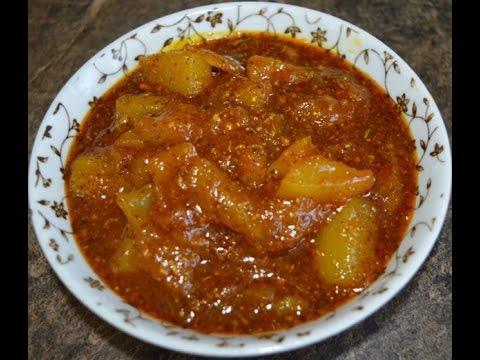 Aam ka Mitha Achar Recipe (Sweet Mango Pickle)