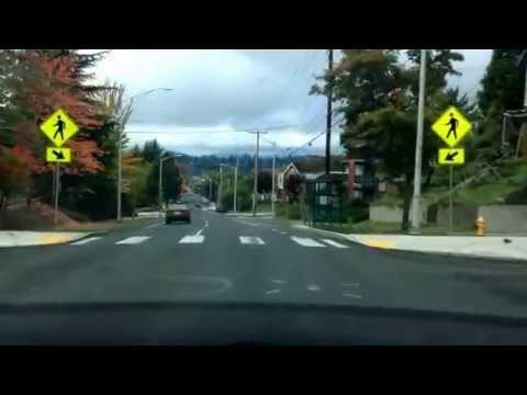 Drive: down Martin Way, Lacey to 4th, Olympia; Washington Straight drive