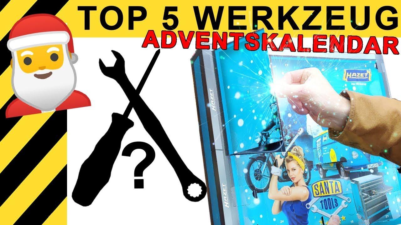 TOP 5 WERKZEUG ADVENTSKALENDER 2019 | WERKZEUG NEWS #22