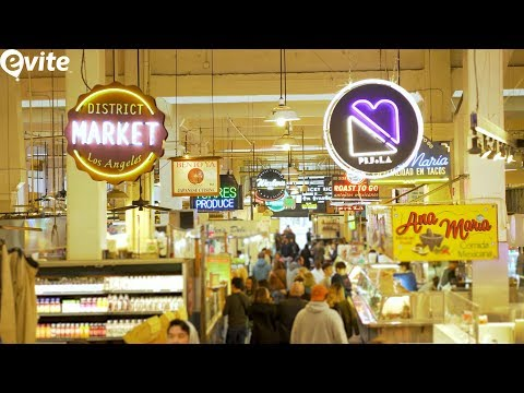 Discover the Story Behind Grand Central Market in DTLA | Evite Out of Office