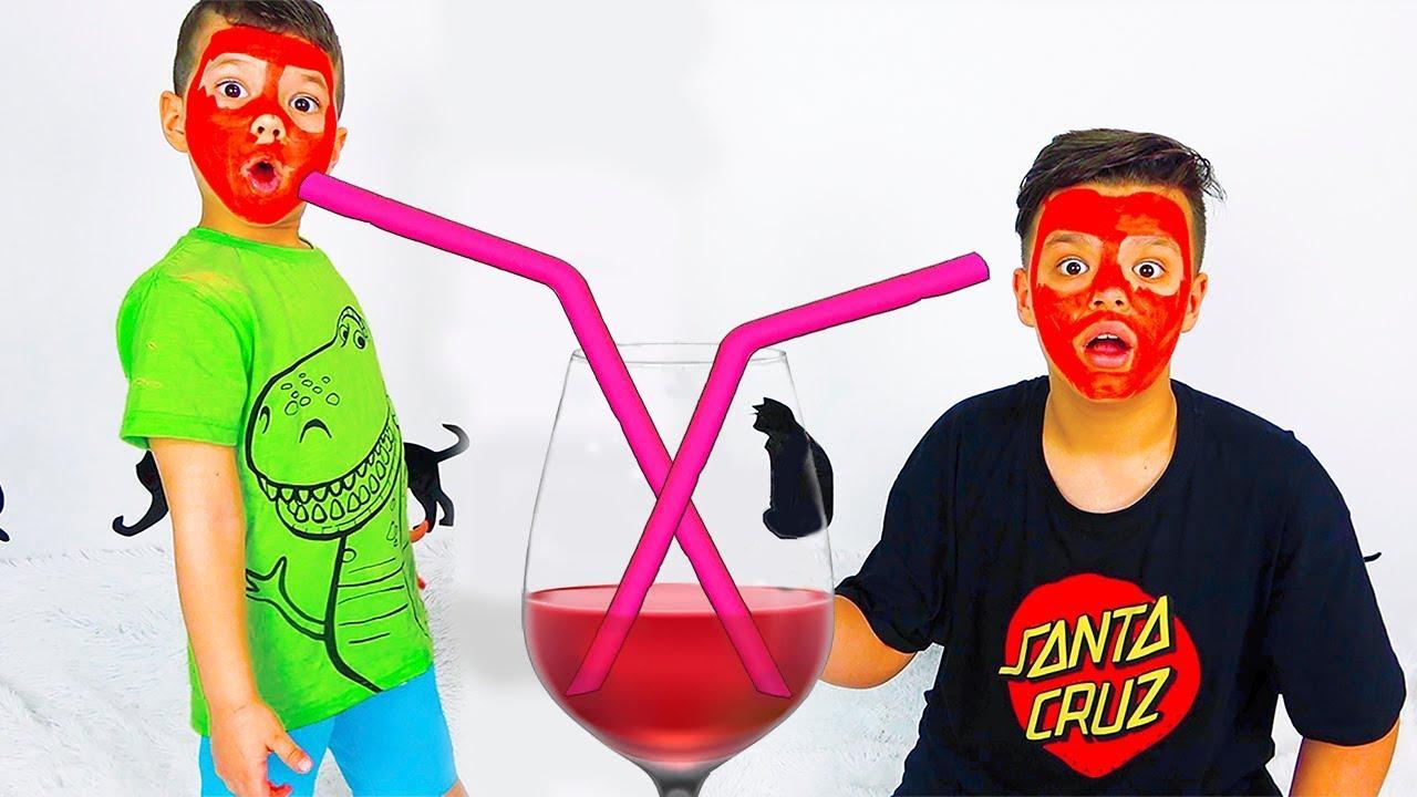 Егорка и Ярик и история о вредных напитках