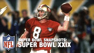 Super Bowl Snapshots: Steve Young Gets The Monkey Off His Back! | NFL