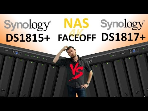 The Synology DS1817+NAS vs Synology DS1815+ NAS - Old vs New, Which 8-Bay Synology should you buy