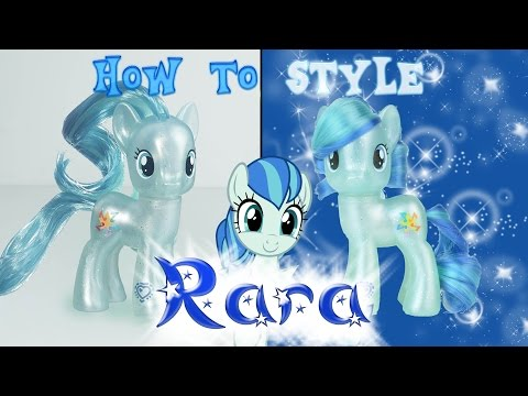 MLP Coloratura Hair Styling Tutorial How to Style My Little Pony Rara Hairstyle | MLP Fever