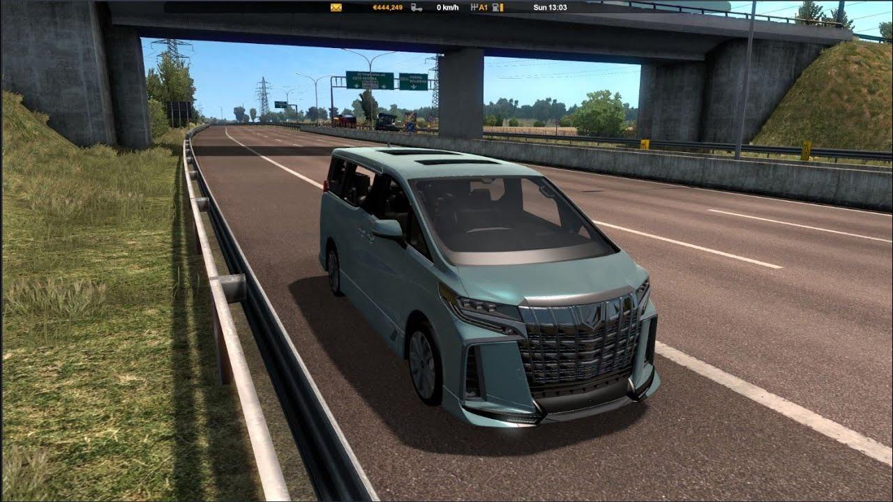 Toyota Alphard Trd Interior V0 0 1 1 39 X For Ets2