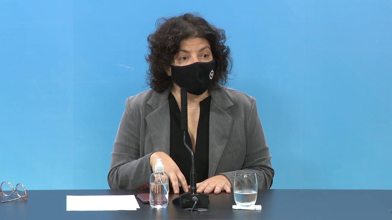 EN VIVO | COVID 19 - Reporte de la ministra de Salud, Carla Vizzotti