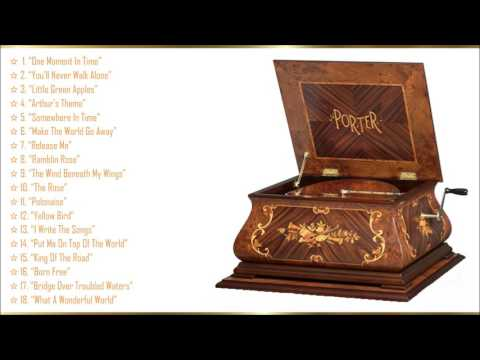 Music Box Easy Listening Favorites #1 *☆* The Porter Music Box Company