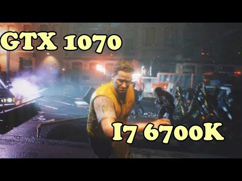 """Resident Evil 3 Remake  BENCHMARK 1080p GTX 1070 & i7 6700k""""  dx 12"""""""