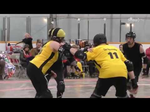Roller Derby - Saskatoon Mindfox vs Winnipeg All Stars