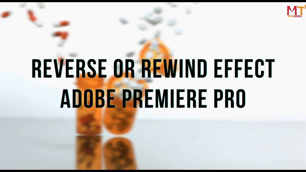 How to Freeze Time and Reverse or Rewind Your Video (Adobe Premiere ...