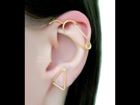 How To Adjust And Fix Ear Cuff On Your Ear. Solution For Protruding Ears. LotEarCuffs Etsy Shop.