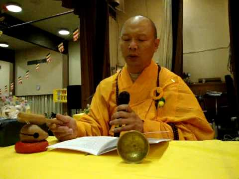 Fianland Vietnam monk Chanting in Turku พระเวียดนาม