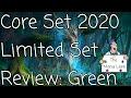 Magic Core Set 2020 Green Limited Set Review - The Mana Leek