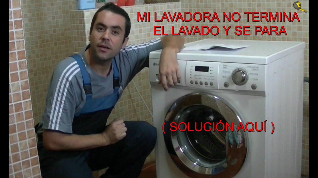 Como reparar una lavadora lavadora se para y no termina for Como reparar una lavadora