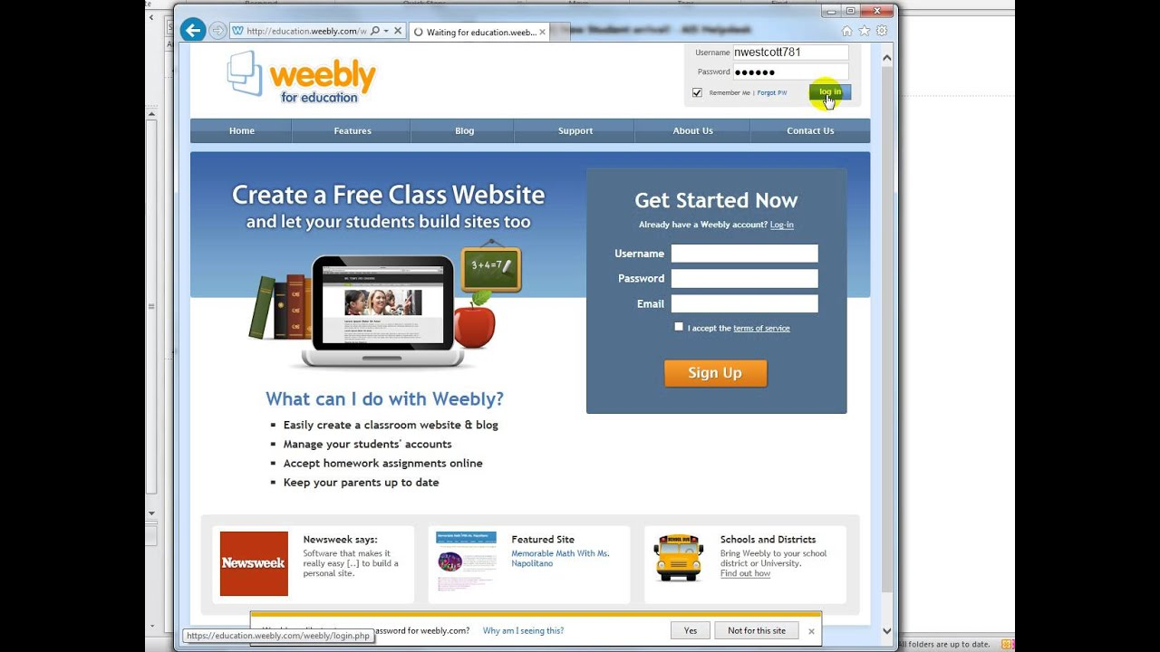 Weebly How to print students list - YouTube