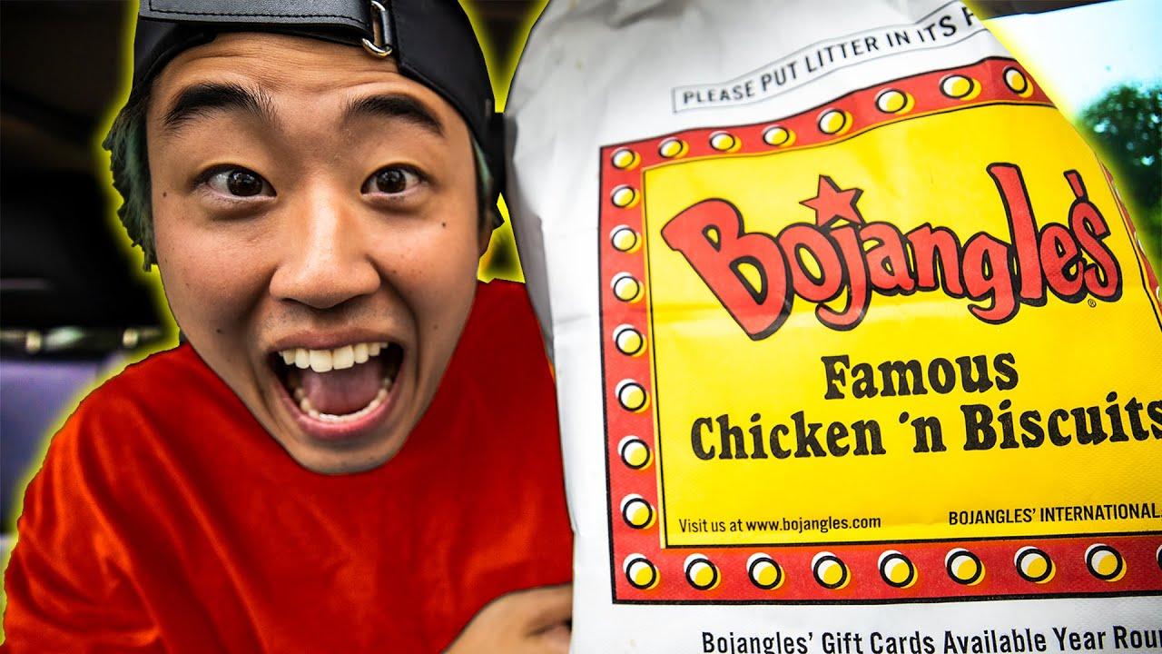 I tried EVERYTHING at Bojangles! (MUKBANG!)