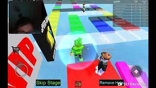 Playing Roblox not with my cousins