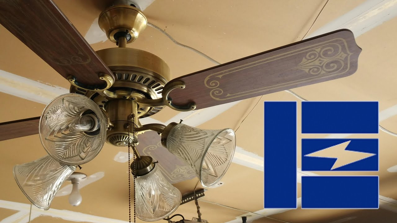 Emerson 1895 Series Ceiling Fan