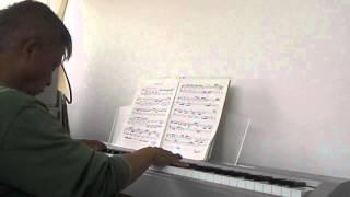 J.S.バッハ  平均律ピアノ曲集  第2巻 ト単調プレリュード