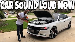 THIS MADE MY V6 DODGE CHARGER SOUND BETTER